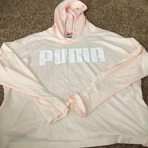 Puma long sleeve sweatshirt